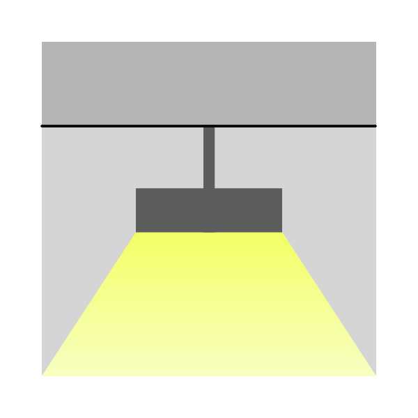 Diffusion Yuuki 40 ceiling spacer Inverlight